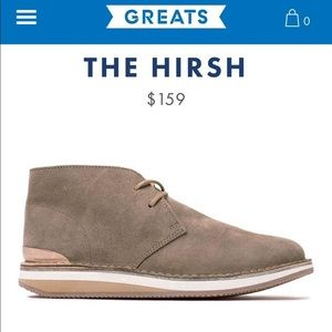 🎉HP! NWT Greats The Hirsch Chukka Boot